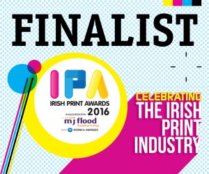 4 Nominations for The Label Factory  Irish Print Awards 2016